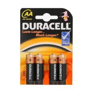 Batteria alcalina AA o R6 Duracell Basic