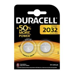 Batterie Duracell Specialty Lithium, DL / CR2032, 2 pezzi da 50004349