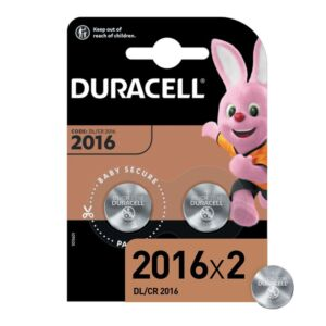 Batterie Duracell Specialized Lithium CR2016N, 2 pezzi