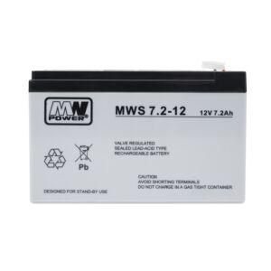 Batteria gel MW 7.2-12 12V / 7,2 Ah