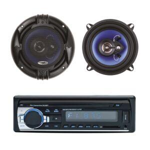 Pacchetto Radio Lettore MP3 per auto PNI Clementine 8428BT 4x45w + Altoparlanti per auto coassiali PNI HiFi650