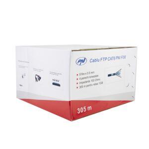 Cavo FTP CAT6 PNI F06 con 4 coppie per internet 1 Gigabit e sistemi di sorveglianza Rola 305m