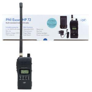 Stazione radio CB portatile HP 72 Escort HP 72