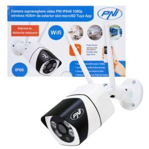 Telecamera di videosorveglianza PNI IP649 con IP