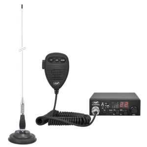 Kit CB radio CBI ESCORT HP 8000L ASQ + Antenna CB PNI ML100