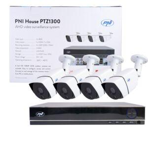 Kit di videosorveglianza AHD PNI House PTZ1300
