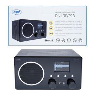 Radio Internet DAB e FM PNI RD290