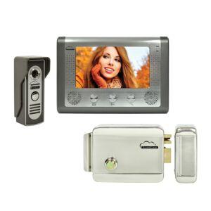 SilverCloud House 715 Kit di interfaccia video con schermo LCD da 7 pollici e elettromagnetismo Yala SilverCloud YL500