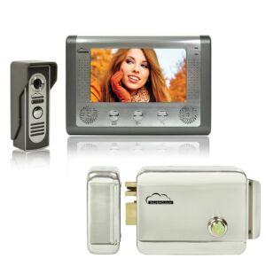 SilverCloud House 715 Kit di interfaccia video con schermo LCD da 7 pollici e elettromagnetismo Yala SilverCloud YR300