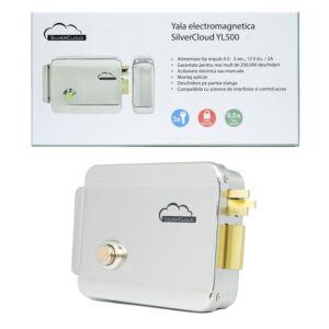 Yala argento elettromagneticoCloud YL500 con mozzo, apertura a sinistra, NC