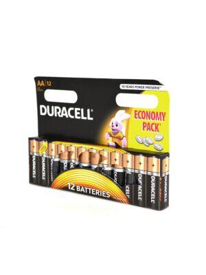 Batteria alcalina Duracell AA o R6 codice 81267246 blister 12bc