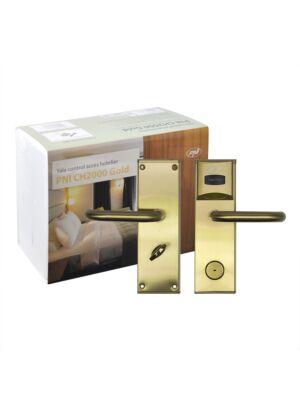 Controllo accessi hotel Yala PNI CH2000R Gold con lettore di schede di apertura sul lato destro