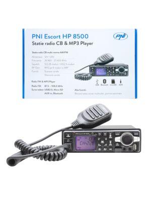 La stazione radio HP 8500 ASQ PNI Escort CB e MP3 include cuffie HS81 e HS71