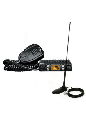 CB CRT Kit stazione radio One + antenna PNI Extra 45