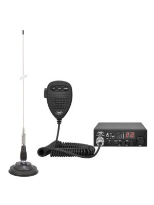 Kit CB radio CBI ESCORT HP 8000L ASQ + Antenna CB PNI ML100