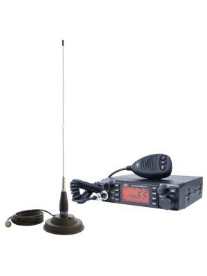 Kit stazione radio CB PNI ESCORT ESCORT HP 9001 PRO ASQ + antenna CB PNI ML145 con magnete 145 / PL