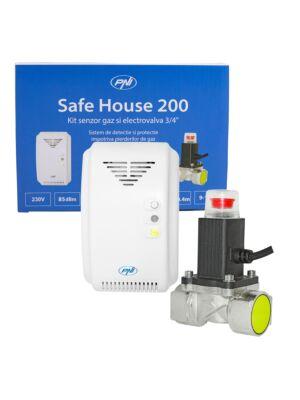 Kit PNI Safe House 200 sensore di gas e valvola solenoide da 3/4 di pollice