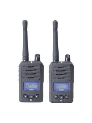 Stazione radio portatile PMR TTi TX110 con 2bc